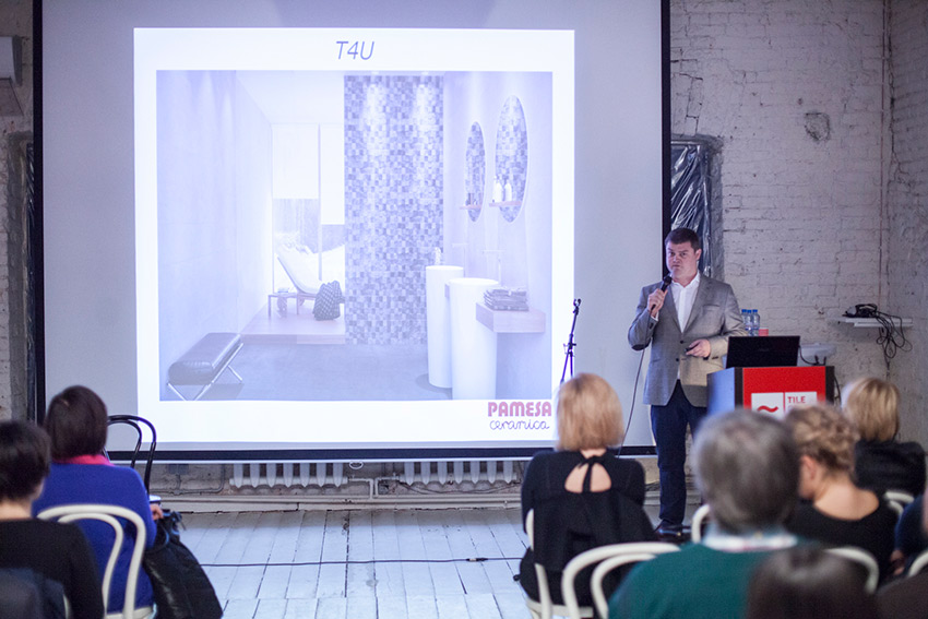Презентация Pamesa в рамках воркшопа Tile of Spain