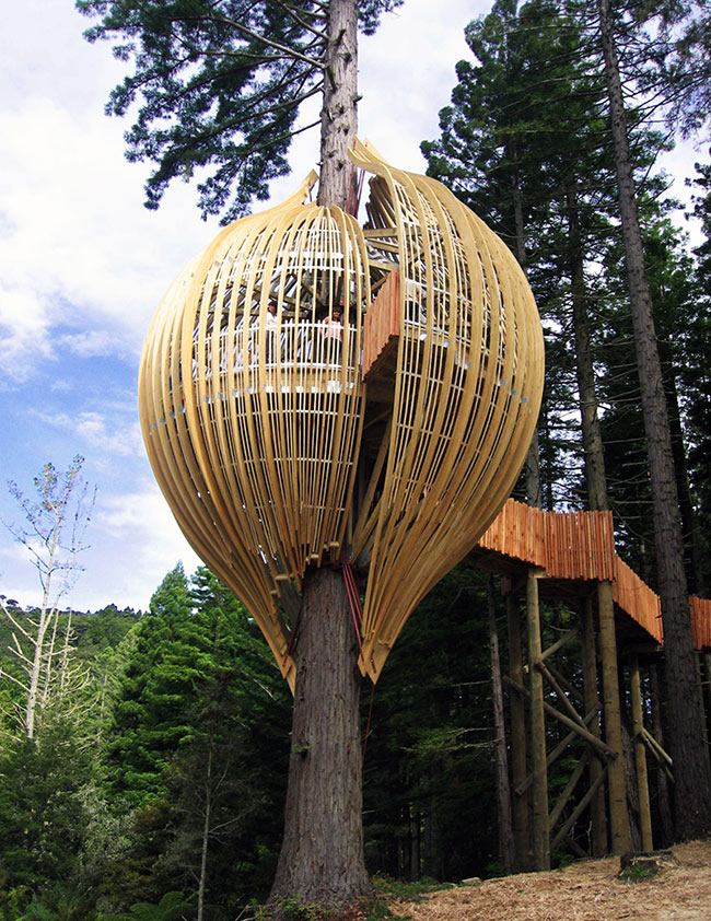 Yellow Treehouse