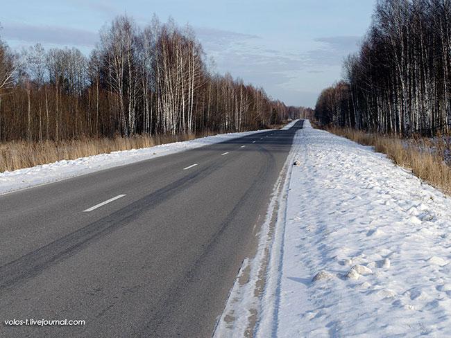 Дорога Томск - Итатка