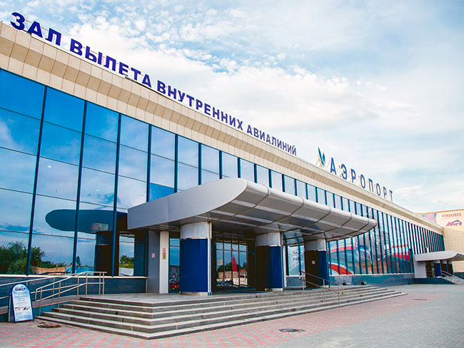 Аэровокзал в Челябинске