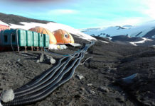 Водоснабжение в Антарктике