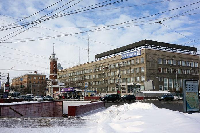 Главпочтамт в Омске