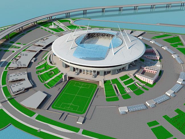 «Зенит-Арена» макет