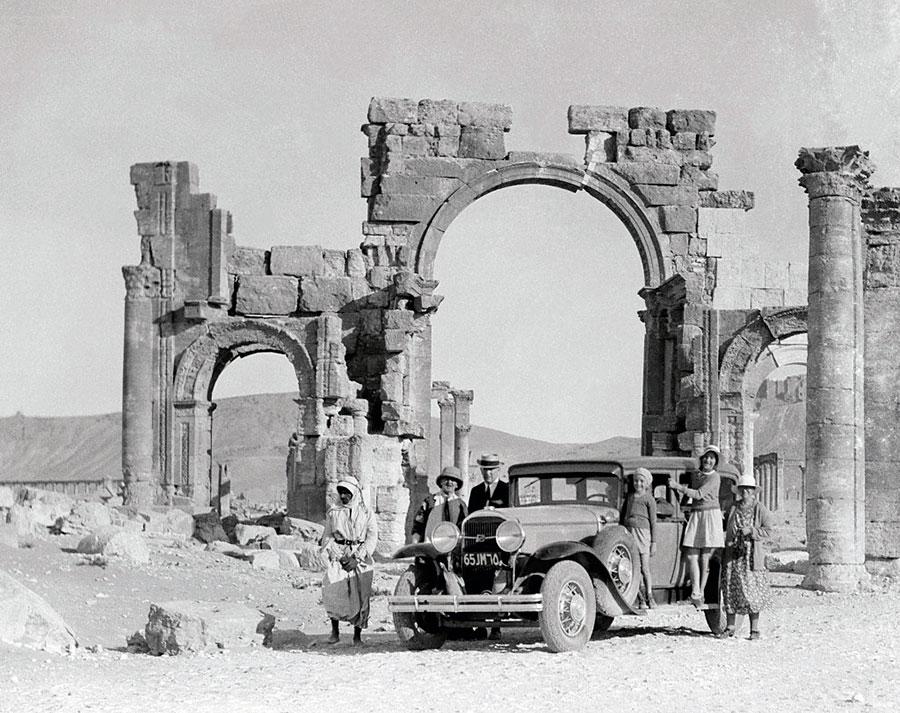 Пальмира, 1900-е