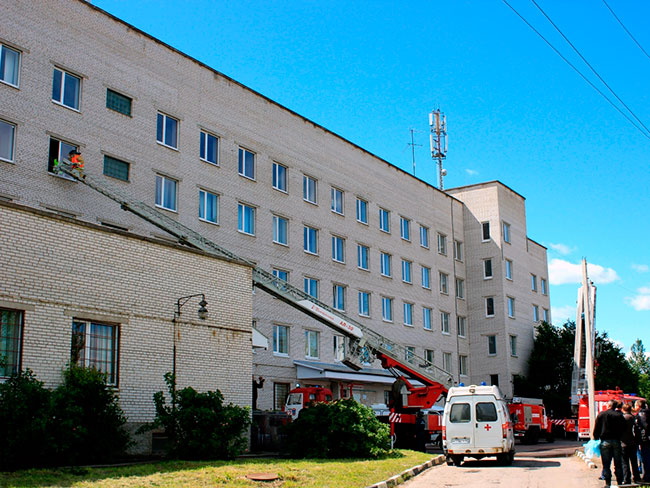 Тосненская больница