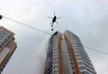 Красноярск, пожар