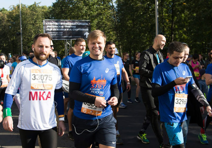 V Московский марафон